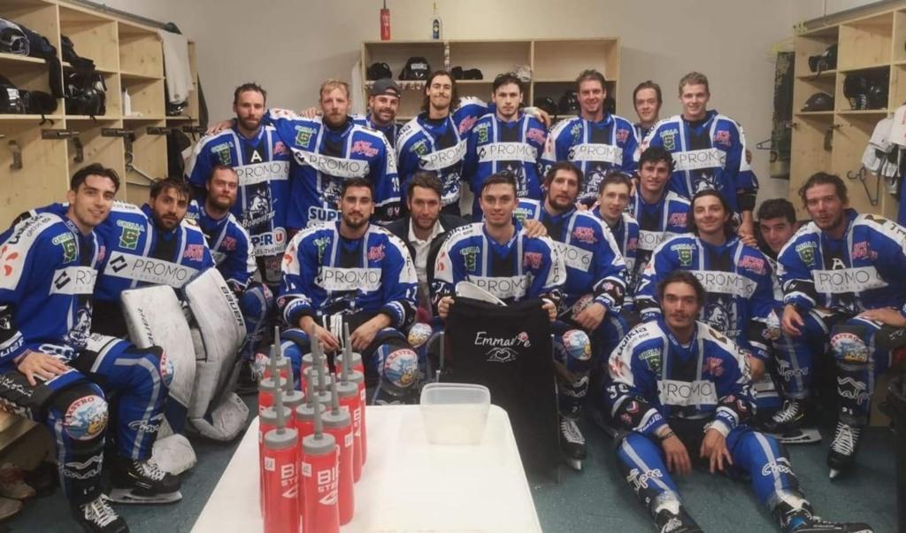 La solidarité du Sport pour Emmavie n'a pas de limites !! Soutien du Club de Hockey 'Les Bouquetins' HCMP Courchevel Merivel Pralognan à qui nous souhaitons une bonne reprise de saison !!